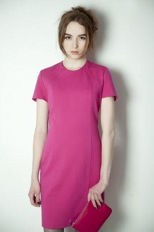Платье-футляр из джерси. #Платье #dress #SvetlanaBekareva