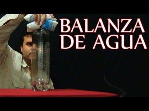 Balanza casera con 3 botellas de plástico - YouTube