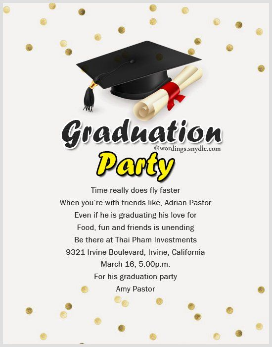 Examples Of Graduation Party Invitations Lovely Wording Graduation Party Invitation Wording Graduation Invitation Wording College Graduation Party Invitations