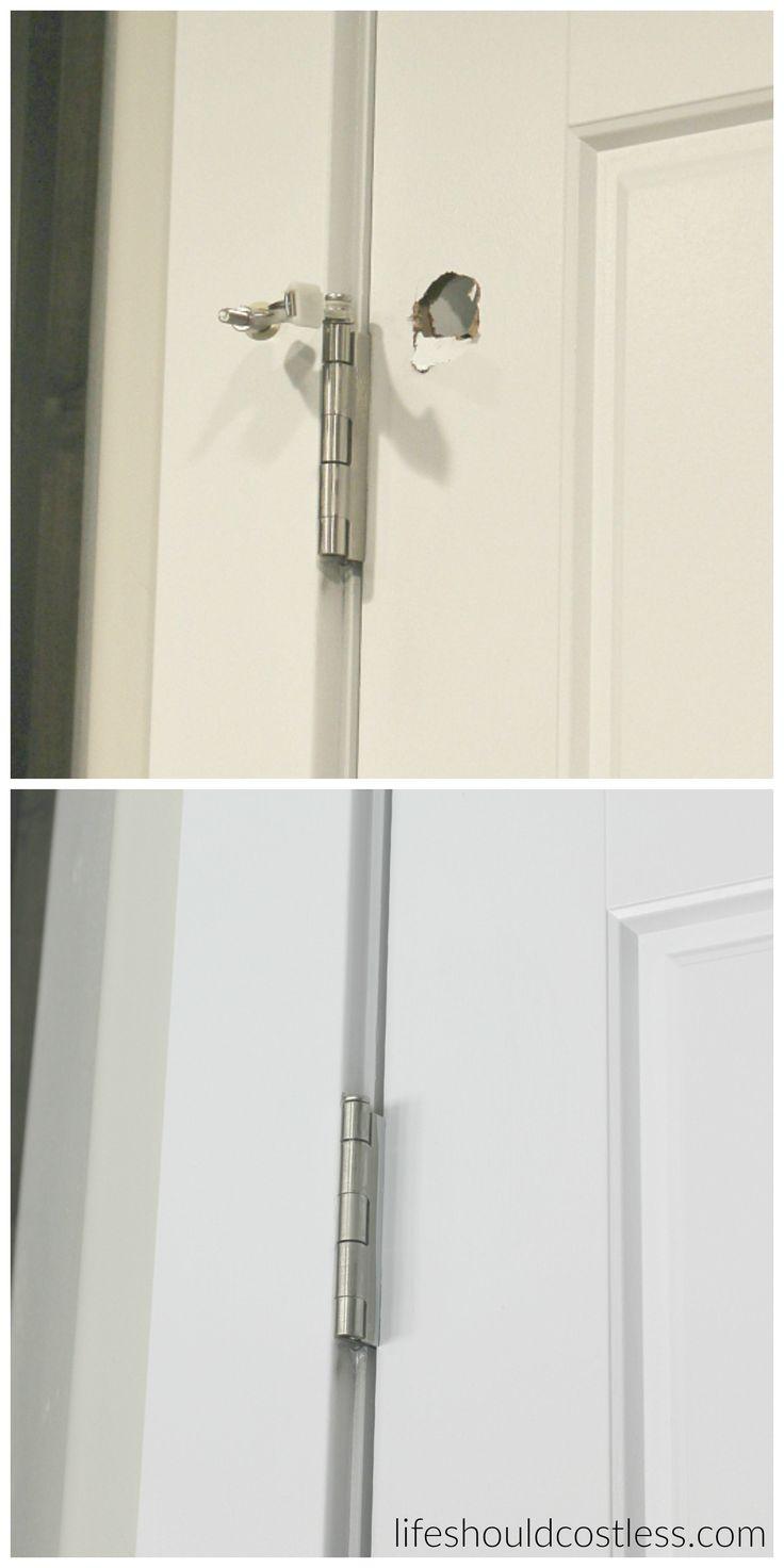 Door Hole Amp Changing Door Knob Hole Size