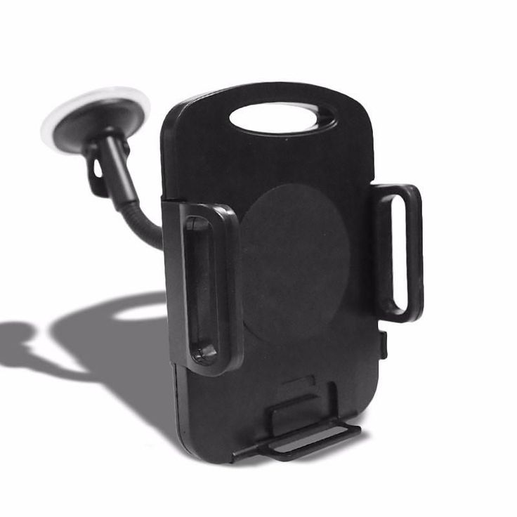 "Black Universal Car/SUV 7""Long Arm Windshield 360 Rotating Tablet Mount Holder Cradle"