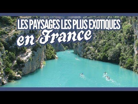Top 25 des paysages insolites de France qui font voyager à l'étranger   Topito