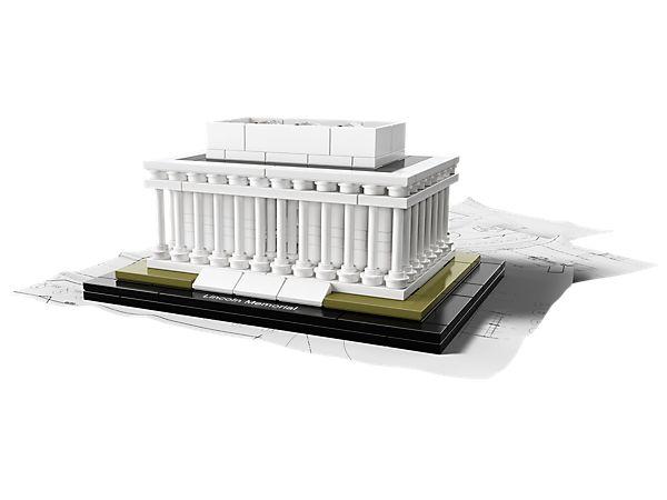 Build the iconic Lincoln Memorial in LEGO® bricks!