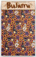 Bulurru Cotton Teatowel Bush Tucker Size: 50cm x 75cm (approx) Code: TT27 Price: $10.50 or 2 for $20.00