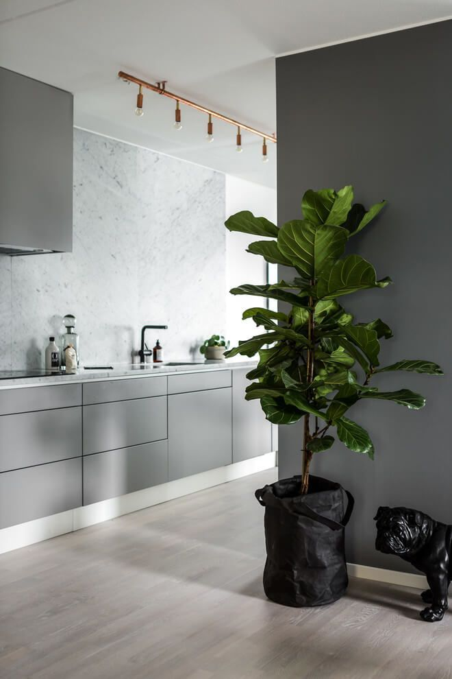 Простая и уютная квартира в Стокгольме | Пуфик - блог о дизайне интерьера