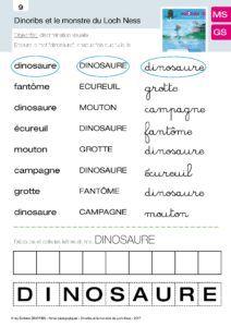 Dinoribs et le Monstre du loch Ness, fiche 08