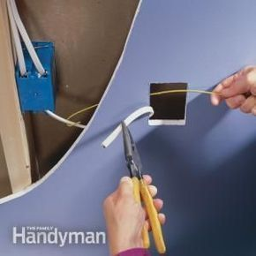 Use this easy method to install a new electrical outlet without a lot of wire pulling.