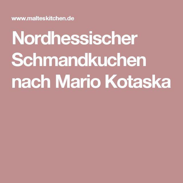 Nordhessischer Schmandkuchen nach Mario Kotaska