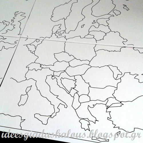 Ιδέες για δασκάλους: Megamaps: Χάρτες για εκτύπωση!