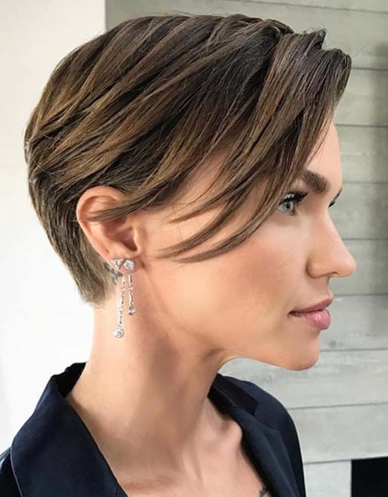 Here you can find the most famous pixie hair ideas worn by the best celebrities in 2018.