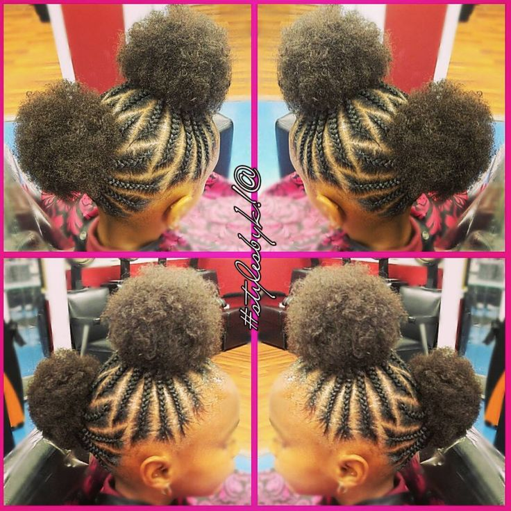 Braided Hairstyles For Kids Mesmerizing 1070 Best Natural Hair  Hairstyles Images On Pinterest  Braids For