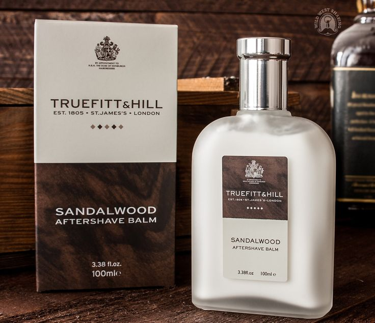 Truefitt & Hill SANDALWOOD Aftershave Balm - 100ml