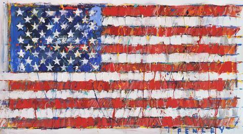 American Flag by Steve Penley