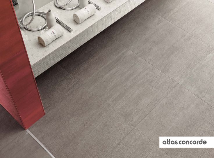 #MARK chrome | #Textured | #Floor design | #AtlasConcorde | #Tiles | #Ceramic | #PorcelainTiles