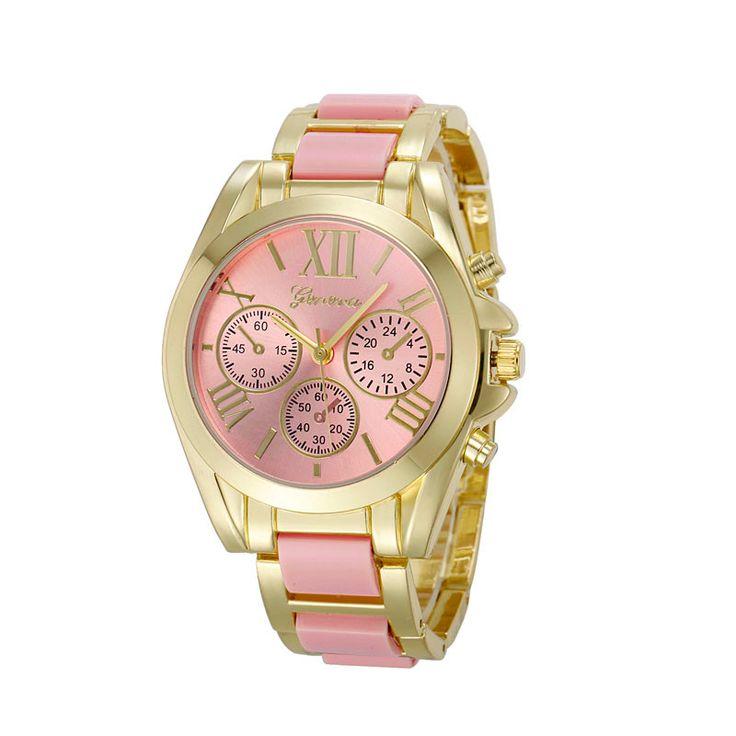 (5,50$) Geneva watch best buy Aliexpress/ Римская Цифра ...