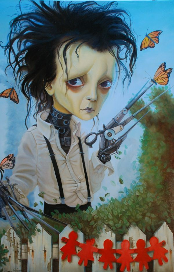Edward Scissorhands by Leslie Ditto