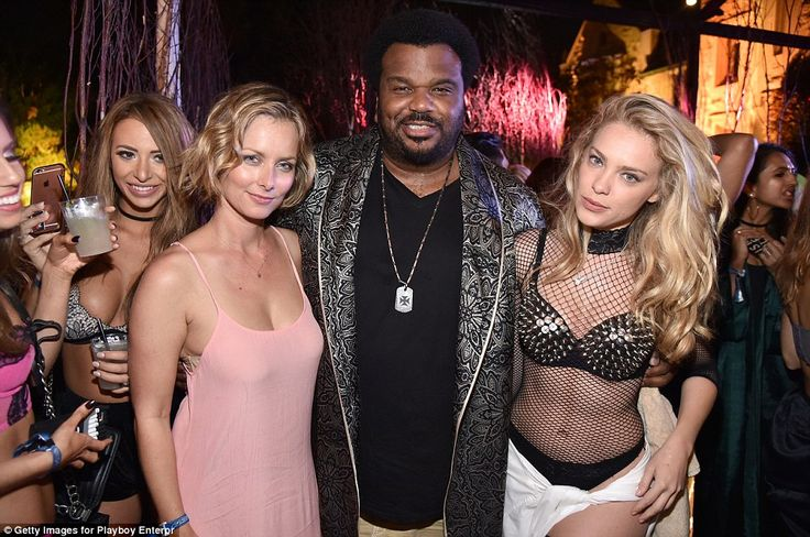 Actor Craig Robinson, star of films such as Hot Tub Time Machine and Pineapple Express, wa...