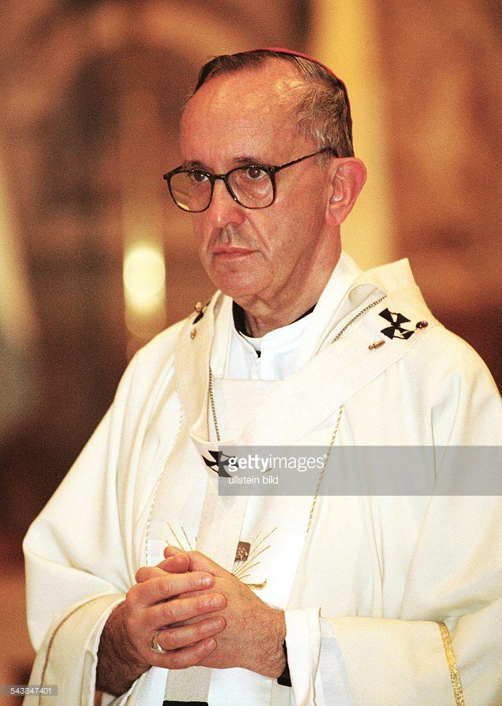 Monsenior Jorge Bergoglio. ab Papst Franziskus.