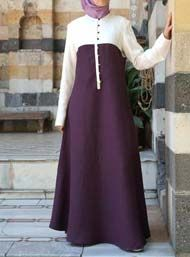 Bi-Color Dress