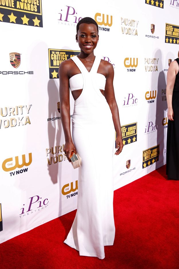 I love this dress! I would so wear it! GODDESS. Lupita Nyong'o | Fashion At The Critics' Choice Awards