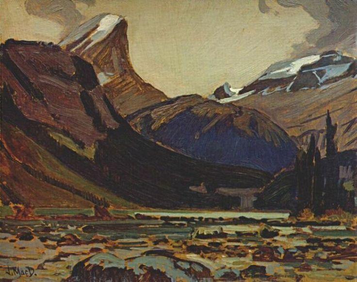 JEH-MacDonald-Clearing-Weather-Sherbrooke-Lake-c1930.
