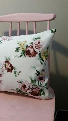 Helppo kääntötyynyliina! Ohje blogissa.    I have writed easy cushion cover instruction, but its only in finnish.