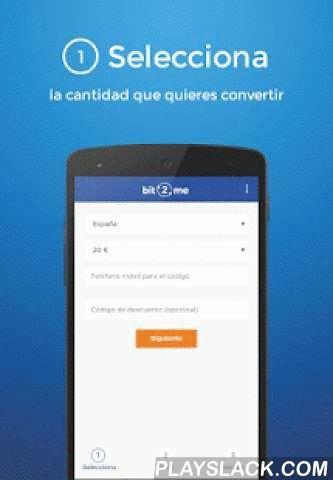 """Bit2Me - Bitcoin A Euro Cajero  Android App - playslack.com ,  Convierte Bitcoin en efectivo en más de 10.000 cajeros en segundos:Cómo funciona:1. Selecciona: Indica la cantidad que deseas cambiar y el número de teléfono al que quieres que enviemos el código que te pedirá en los cajeros.2. Envía: Envía los Bitcoin y espera tu pago será detectado por la APP.3. Recoge: Selecciona la opción """"Hal - Cash"""" en el cajero de tu banco más cercano, introduce los códigos que te enviaremos y saldrá el…"""