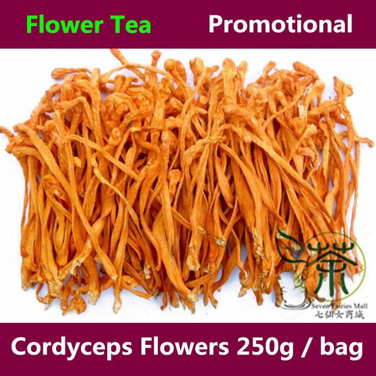 Чай / цветочный чай 500 г добавки для фитнеса тоник кордицепс цветы, Уход сушеные Fowers добавки и витамины 250 г * 2