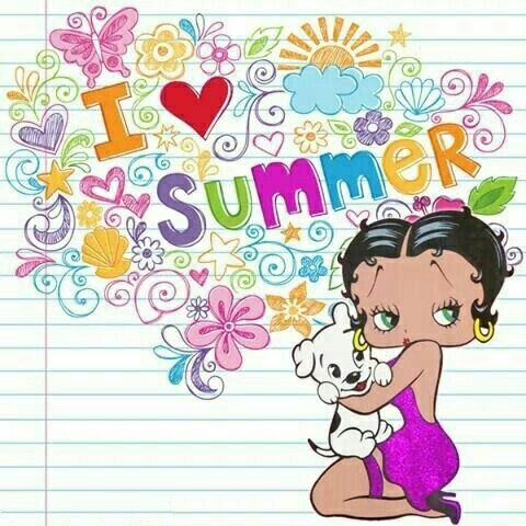 best bb summertime images betty boop  summer holidays essay for kids news from fusion studios dance art music