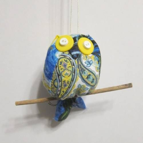 Fabric Owl by LovelyMiss