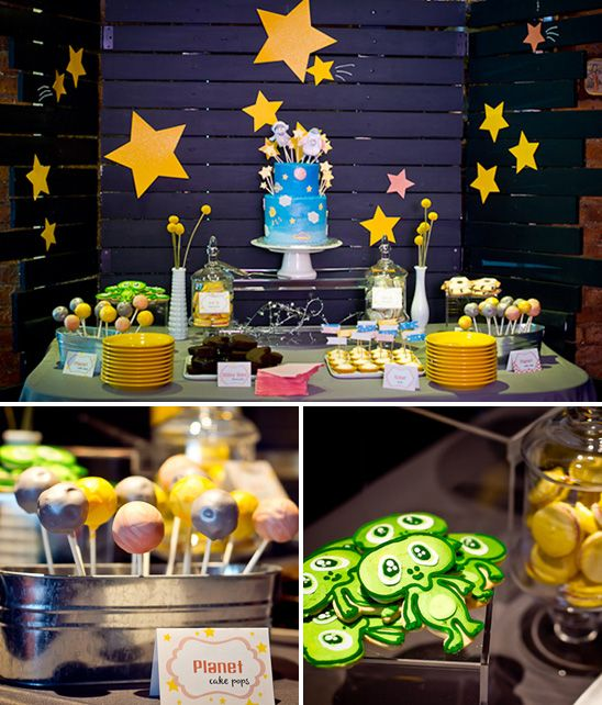 Outer Space Themed Baby Shower