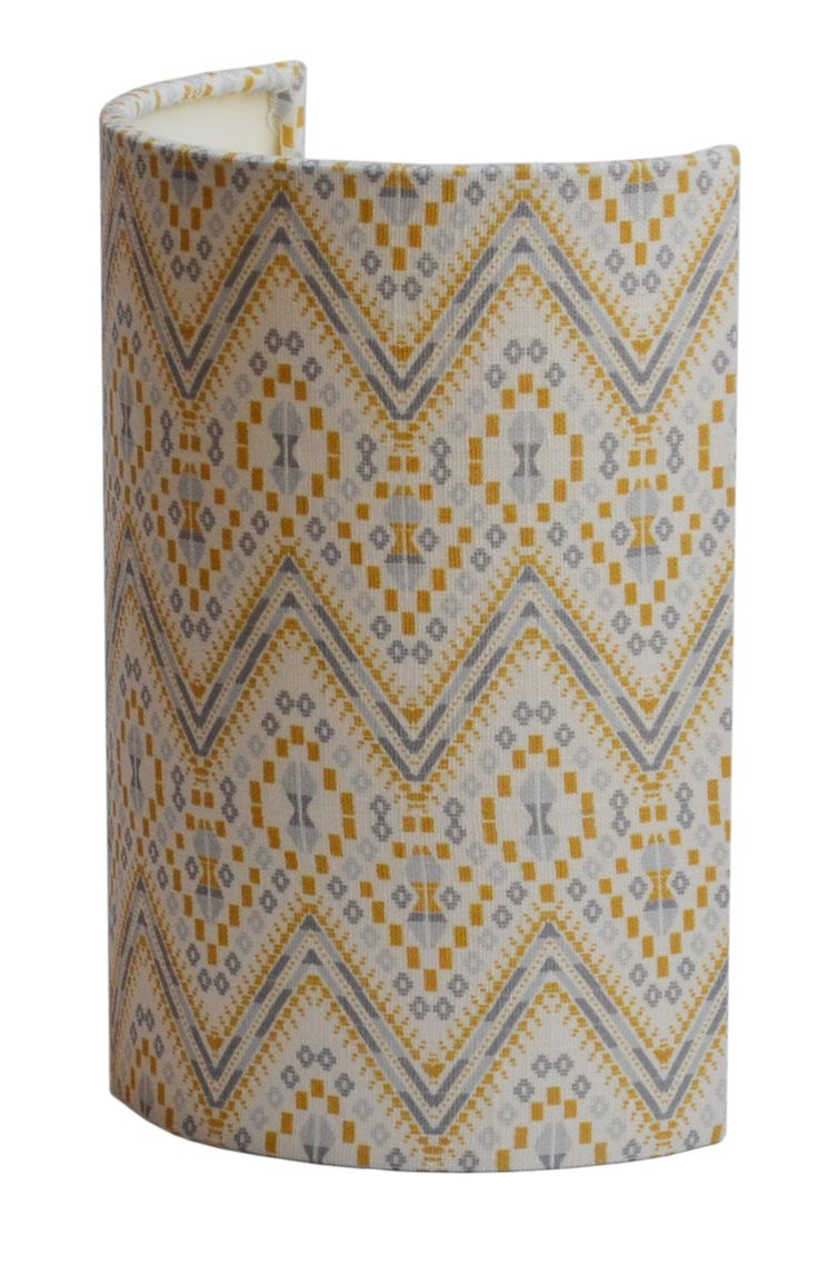 Ellipse Lampshades from the A Rum Fellow Lampshade Collection, exclusive to Copper & Silk.