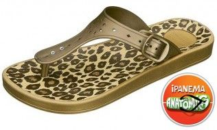Ipanema Animal Beige Flip Flop The cool and so now leopard print make it a perfect sandal for a trip to the shops. The adjustable see thru strap means this is a comfy yet stylish choice, and the anatomic foot-bed supports each indi http://www.comparestoreprices.co.uk/womens-shoes/ipanema-animal-beige-flip-flop.asp