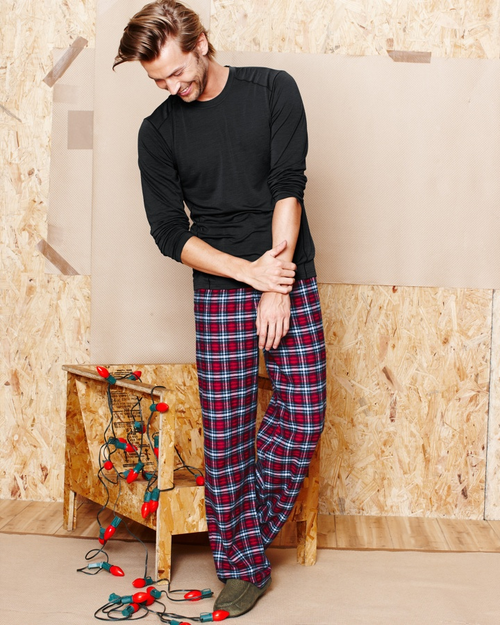 Men's Holiday Flannel Pants