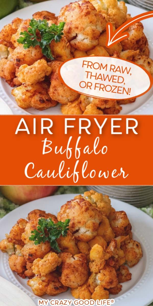 This Air Fryer Buffalo Cauliflower is easy and healthy