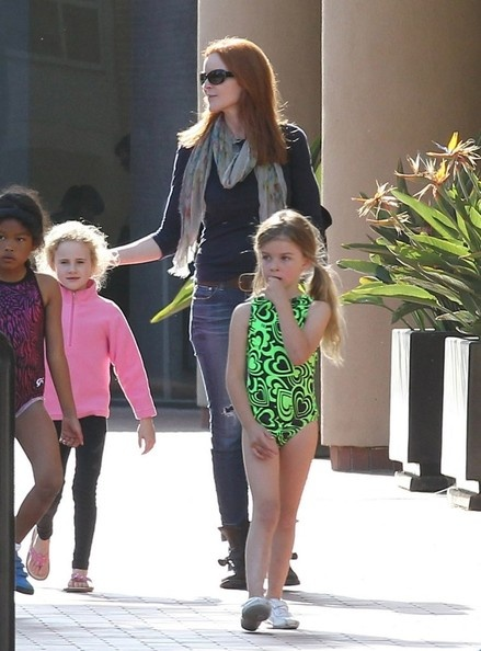 Marcia Cross Takes Eden To A Swimming Class