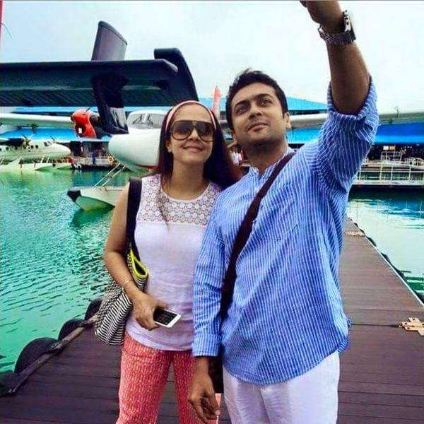Surya and Jyotika