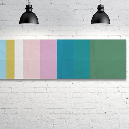 Stripe One A, 102 x 36cm, digital montage Object of Desire Art Gallery
