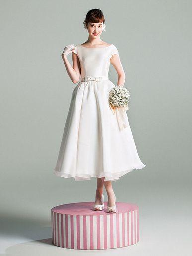 クロカンブッシュ(Croque en Bouche) ドレスの愛らしさをもっと強調するようなスウィートなスタイルを