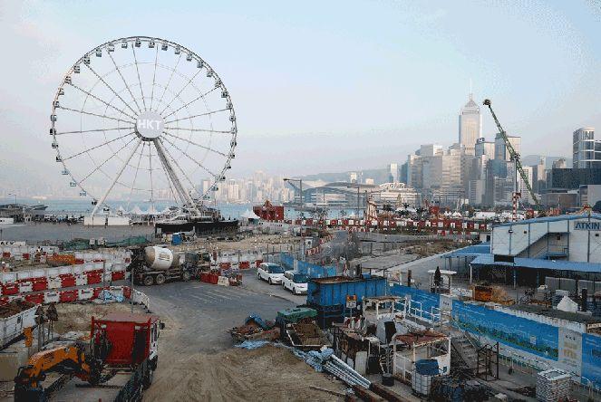 The Hong Kong Observation Wheel (香港摩天輪)