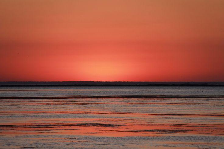 Sunset on the Azov Sea, #Berdyansk, Ukraine