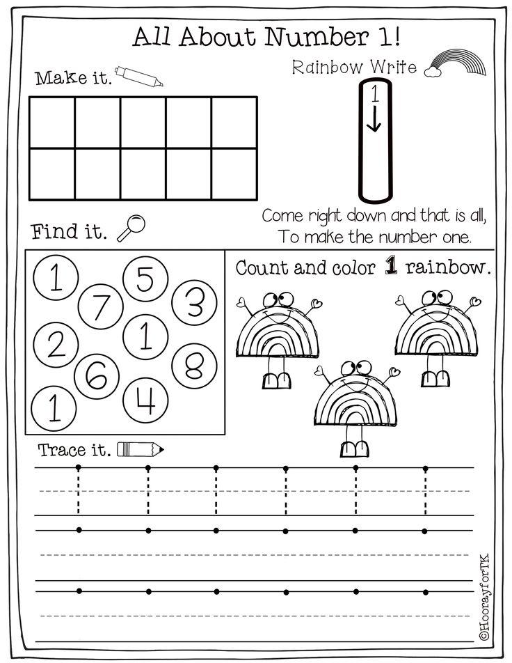 Number Worksheets 110 Rainbow writing, Worksheets, Math
