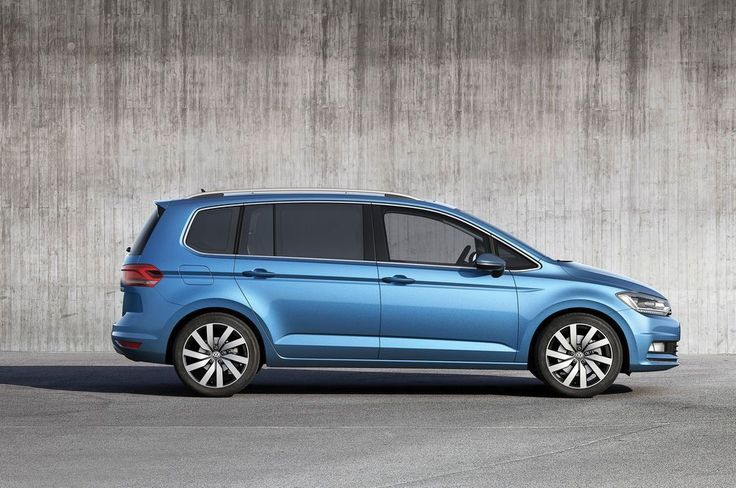 Review Volkswagen Touran 2016 Release Side View Model