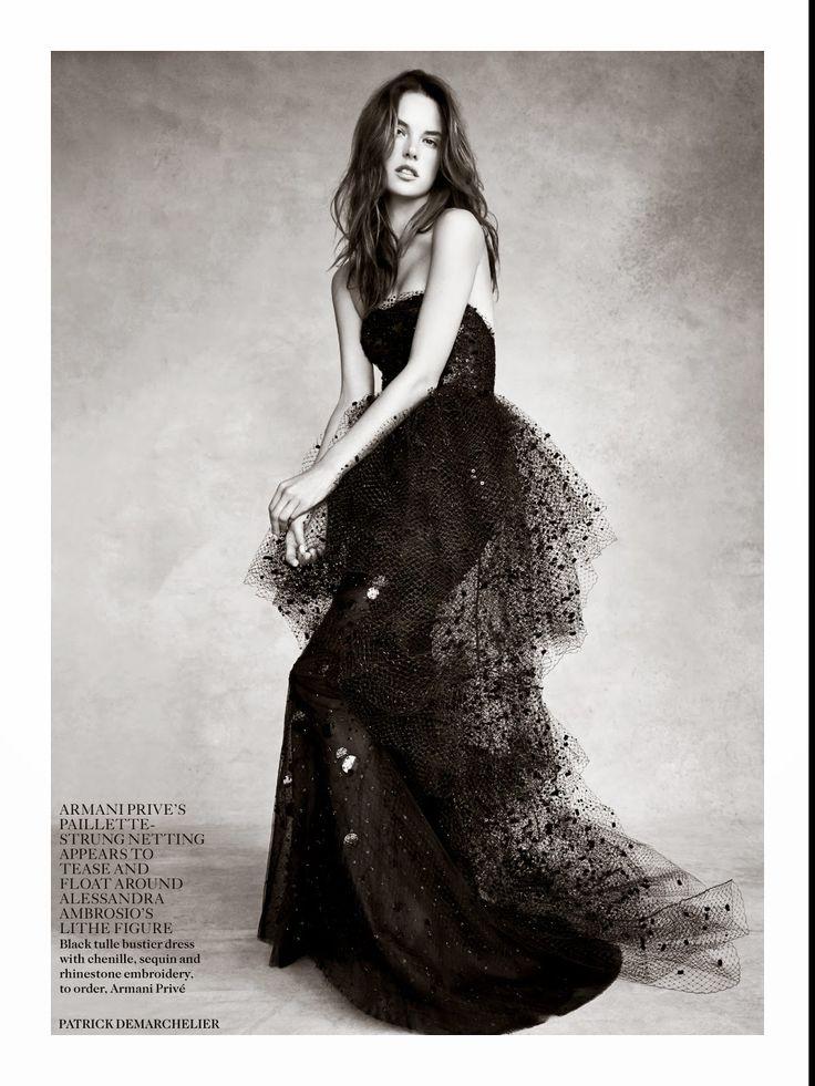 Alessandra Ambrosio: Vogue UK - November 2014