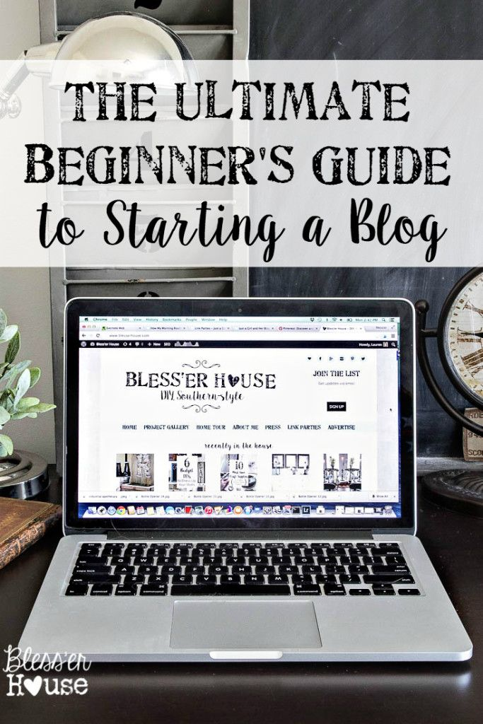 The ultimate beginner's guide to strating a blog. 5 steps to get started with tips  for beginner bloggers. L'ultime guide pour débutant pour commencer son blog. 5 étapes pour débuter avec des outils spéciaux pour blogueur débutant. #businessgirlacademy #blogging #BGA #blogtips