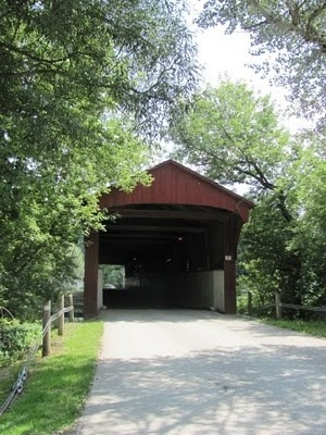 West Montrose covered bridge, Grand River
