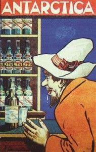 Antarctica cartazete cerveja 1922