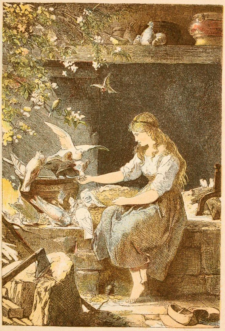 Cinderella -- Aschenputtel -- Paul Menerheim -- Fairytale Illustration