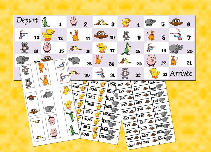 17 meilleures images propos de maths sur pinterest - Jeu sur les tables de multiplication ...