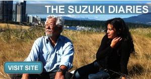 David Suzuki was one of my VERY FIRST television interviews!